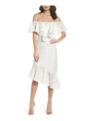 C/Meo Collective c/meo more to give off the shoulder midi dress
