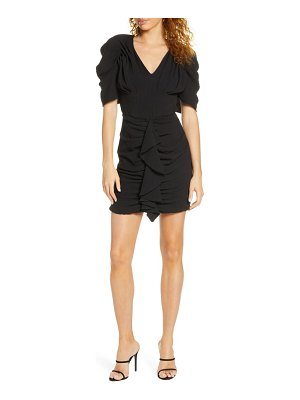 C/Meo Collective c/meo soaked ruffle minidress