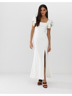 C/Meo Collective heart of me ruflfe gown