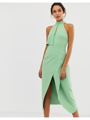 C/Meo Collective high heart midi dress