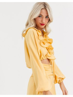 C/Meo Collective knowing of this two-piece top-yellow
