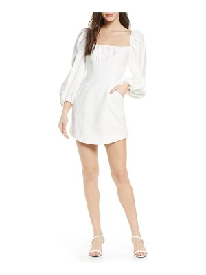 C/Meo Collective over again long sleeve minidress