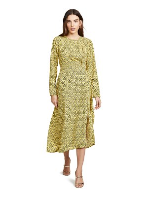 C/Meo Collective sanguine long sleeve dress