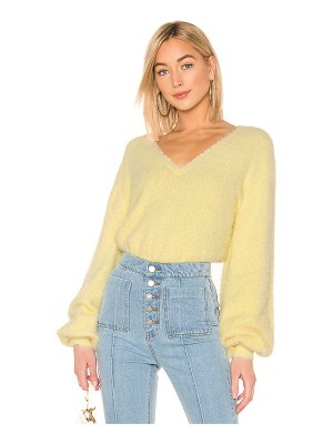 C/MEO Confine Knit Sweater In Butter