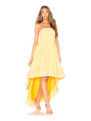 C/MEO Entice Strapless Gown