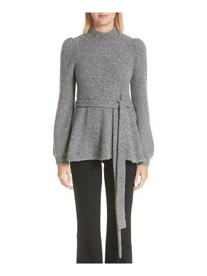 Co. belted cashmere blend sweater