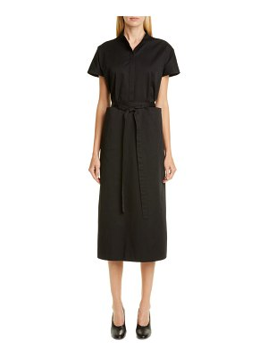 Co. belted tton shirtdress