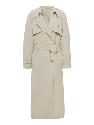 Co. belted twill trench at