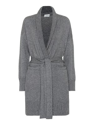 Co. belted wool and cashmere cardigan