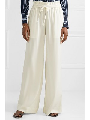 Co. crepe wide-leg pants