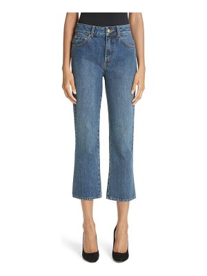 Co. essentials crop flare jeans