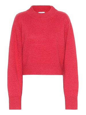 Co. cropped cashmere sweater