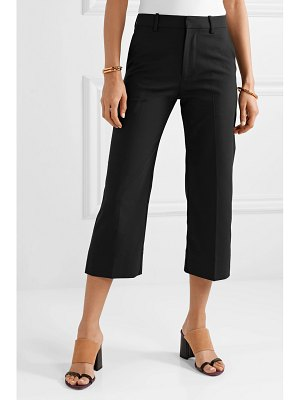 Co. cropped woven straight-leg pants