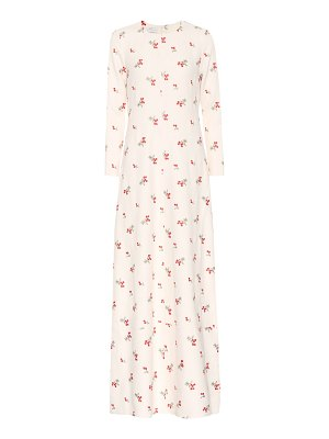Co. Embroidered maxi dress