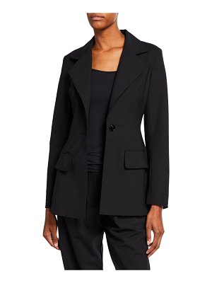 Co. Fitted One-Button Blazer