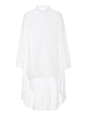 Co. floral eyelet cotton top