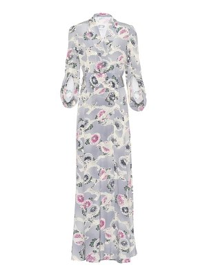 Co. Floral-printed silk dress