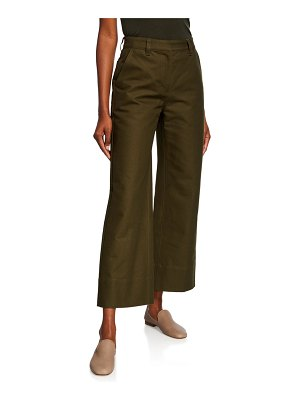 Co. High-Rise Cropped Work Pants