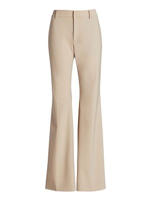 Co. high-rise wool-blend trousers