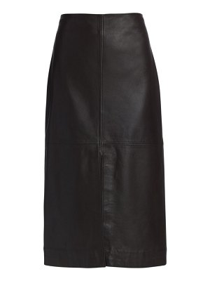 Co. leather pencil skirt