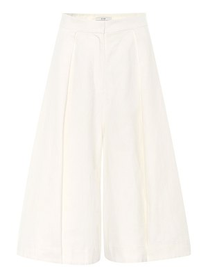 Co. Linen and cotton culottes