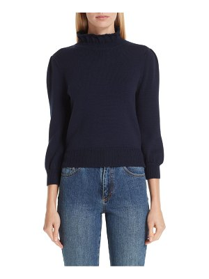 Co. mock neck wool sweater