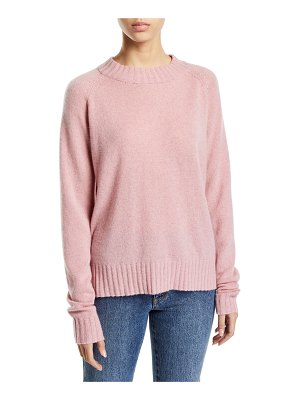 Co. Raglan-Sleeve Cashmere Crewneck Pullover Sweater