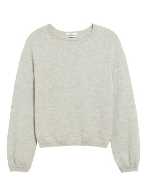 Co. raglan sleeve cashmere peasant sweater
