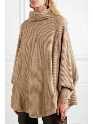 Co. ribbed wool and cashmere-blend turtleneck sweater