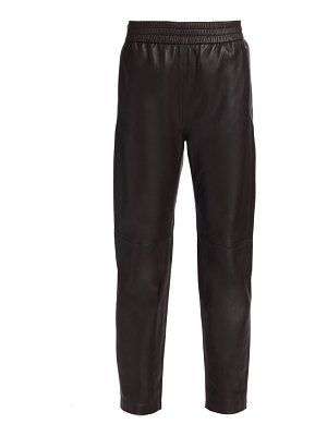 Co. straight leather pants