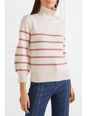 Co. striped wool and cashmere-blend sweater