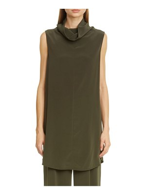 Co. wl neck sleeveless tunic