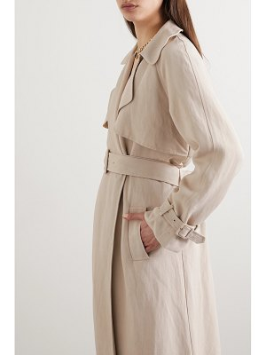 Co. woven trench coat