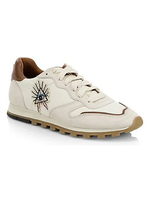 COACH 1941 embroidered eye sneakers