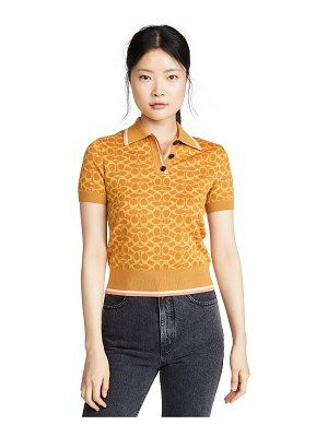 COACH 1941 fitted polo top