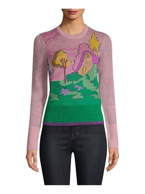 COACH 1941 spooky cottage crewneck sweater