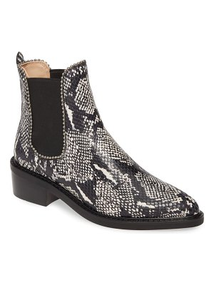 COACH bowery ball chain chelsea bootie
