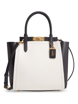 COACH troupe colorblock tote