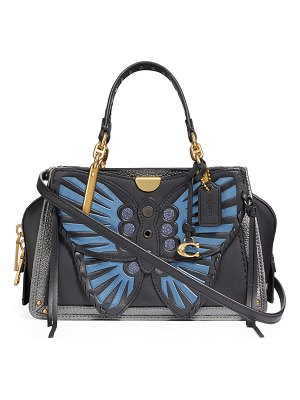 COACH Dreamer 21 Whipstitch Butterfly Satchel Bag