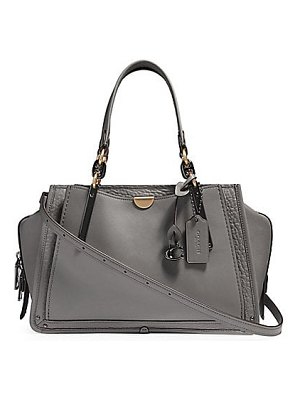 COACH dreamer leather satchel