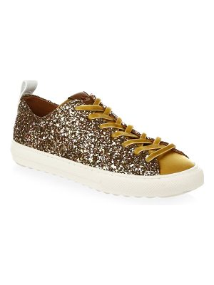 COACH glitter low top sneakers