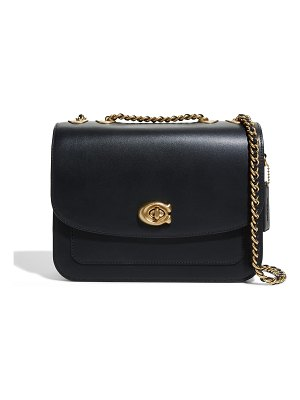 COACH Madison Refined Leather Chain Shoulder Bag