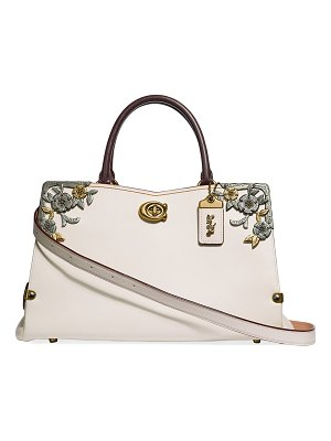 COACH Mason Carryall Tea Rose Tote Bag