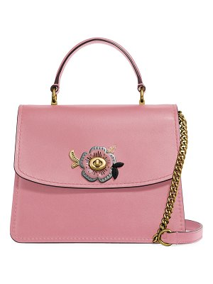 COACH Parker Tea Rose Stones Top-Handle Bag