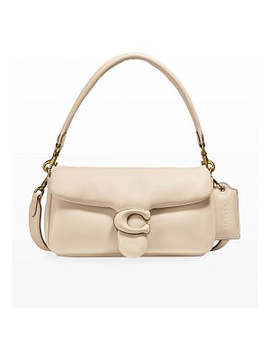 COACH Puffy Tabby 26 Leather Shoulder Bag