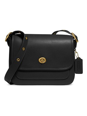 COACH rambler leather crossbody bag