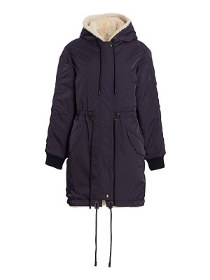 COACH reversible shearling-lined parka