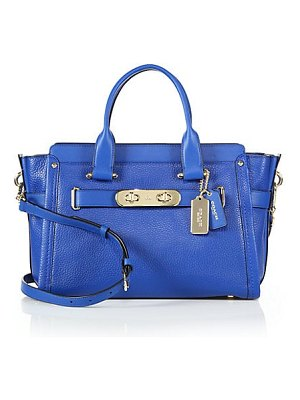 COACH swagger satchel