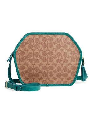 COACH the  originals runway coated canvas crossbody bag
