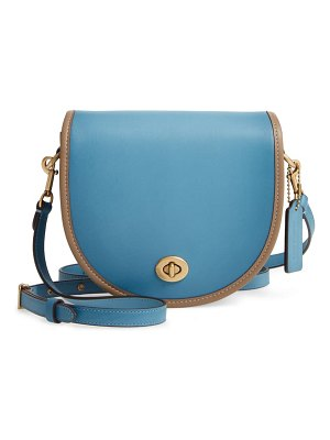 COACH the  originals runway colorblock leather crossbody bag